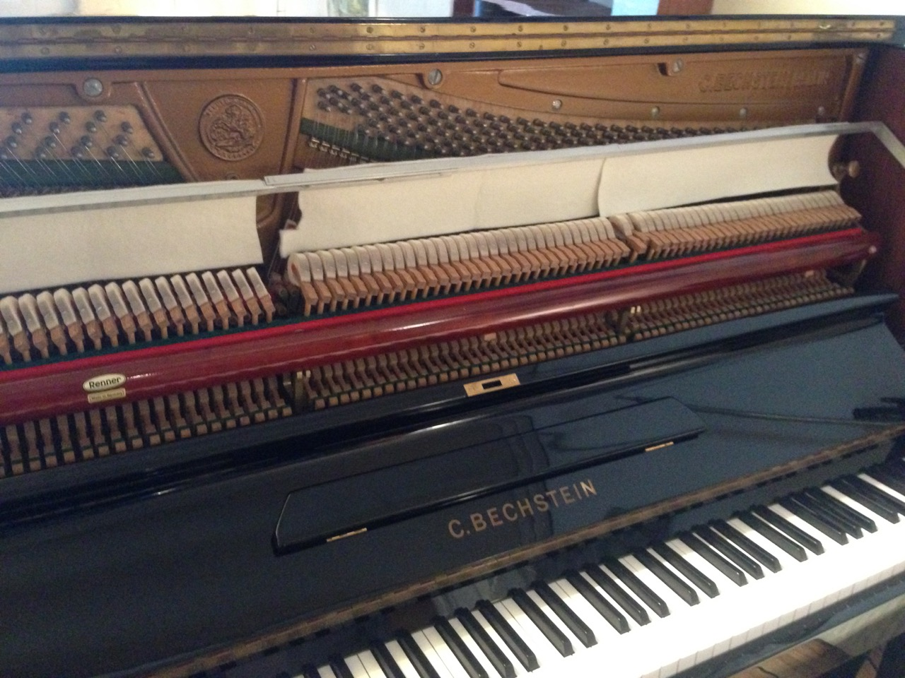 I am very proud of my 'greatest upright piano of all times' Bechstein 8. Famous for being used on beatles records, amongst others. It really is true what you read about it on the internet. Come and hear for yourself.